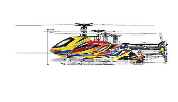 Tipos de Helicópteros radio control