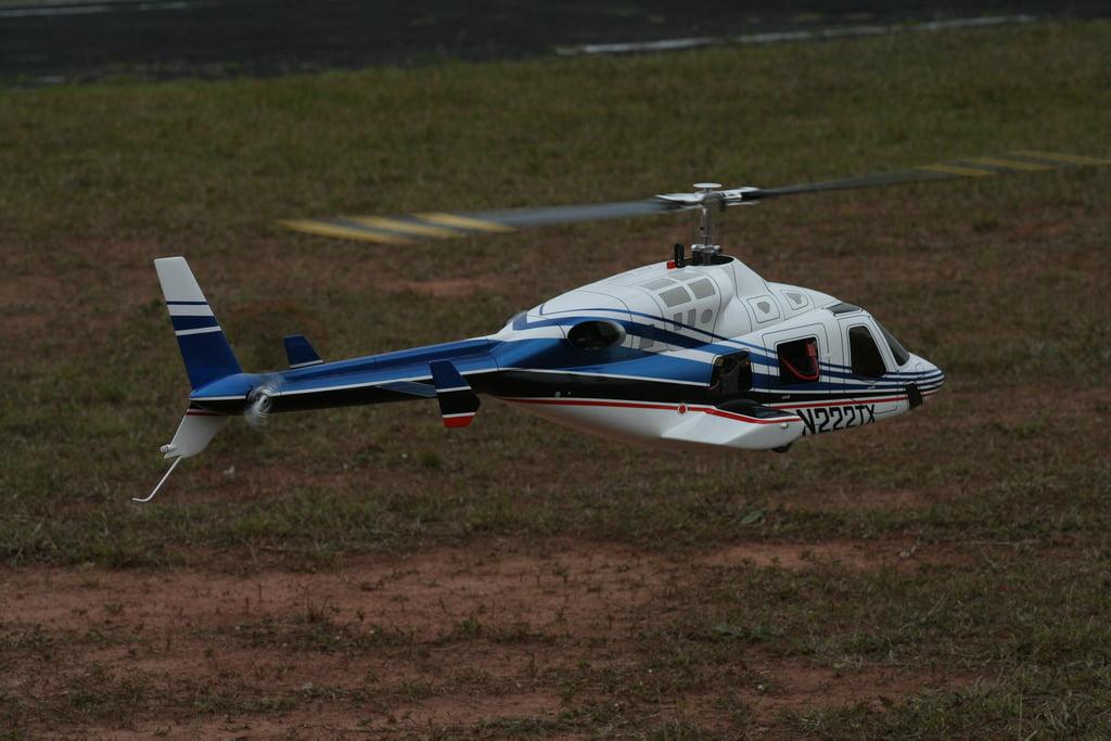 ¿Como vuelan los helicópteros?