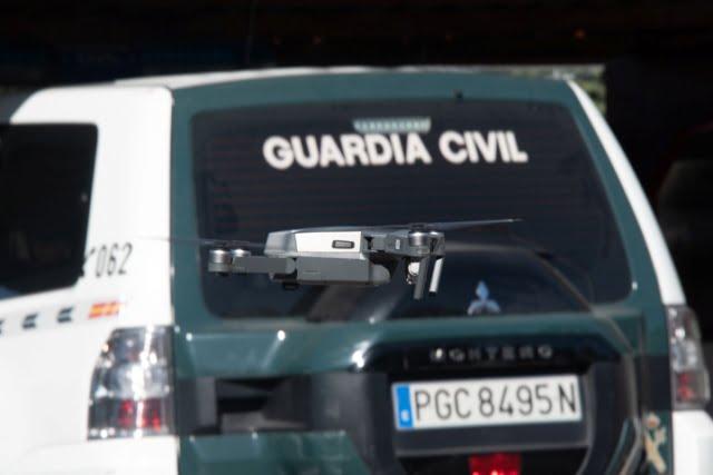 Equipo Pegaso, agentes por España para controlar el vuelo de drones